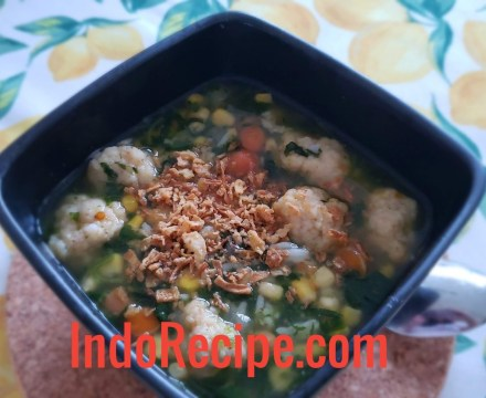 Easy Cooking: Spinach Soup (Sayur Bening)