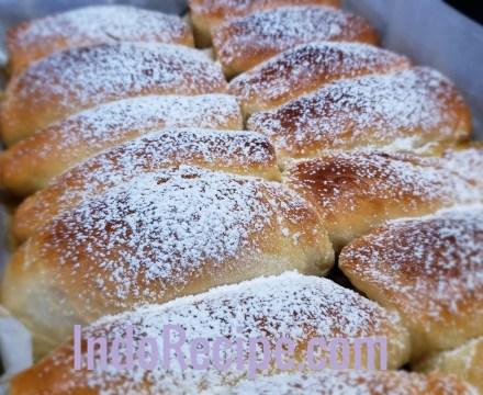 Bread Machine Apricot Buns (Lekvaros Bukta)