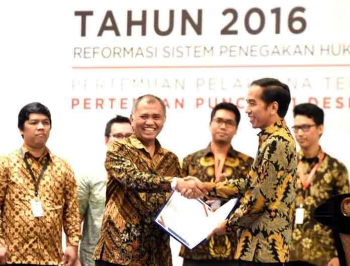 Pemberantasan Korupsi, Presiden Jokowi: Saya Dukung Penguatan KPK