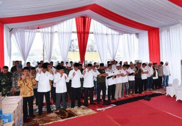 Presiden Jokowi Apresiasi Aksi Doa Bersama yang Berjalan Damai