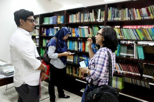 "Perpustakaan Kemenkop Kampanyekan ""Satu Jiwa Satu Buku"""