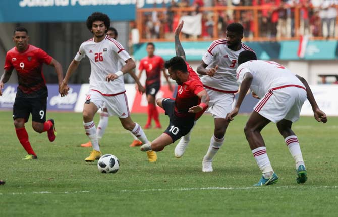 Timnas U-23 Gagal ke Perempatfinal Asian Games