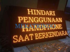 Running Text - Tulisan Berjalan - PT. Firza Meka Trindo - indotraffic.net