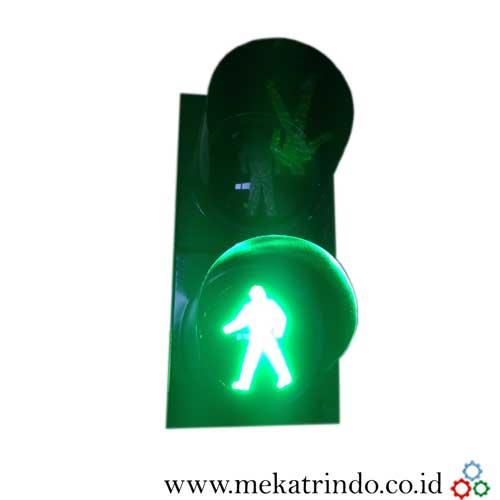 Lampu pedestrian traffic Light - lampu lalu lintas - mekatrindo