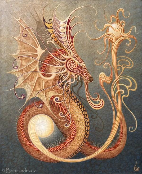 dragon boris indrikov дракон борис индриков
