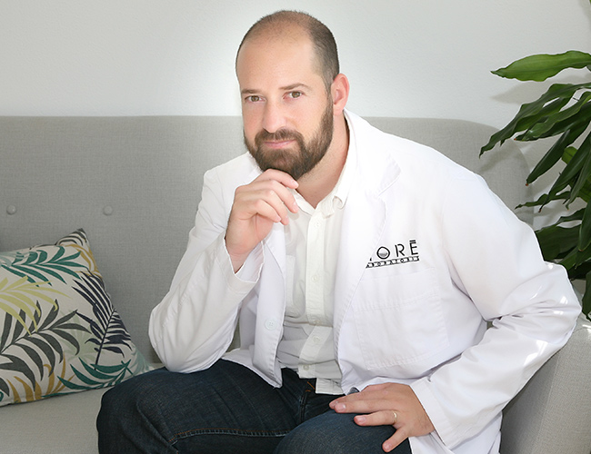 Albert Solanas, Director Técnico en Laboratoris Moré y fundador de Indrinah