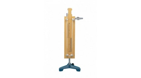 Free Air Manometers Height 40 cm with Stopcock.