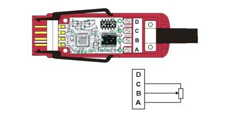 ZWD700FS Potentiometric Sensor Digital ALMEMO® D7 Measuring Connector