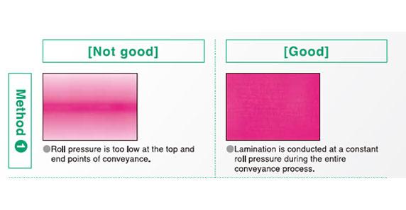 Pressure Film Adhesive Pressure Application Results