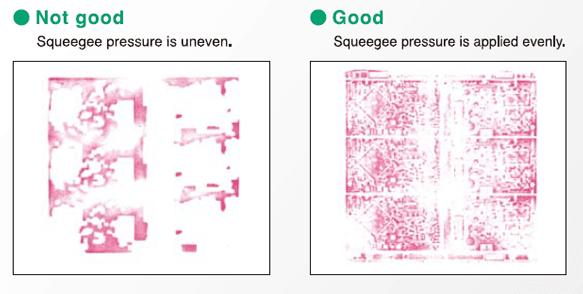 Pressure Film Squeegee Pressure Application Results
