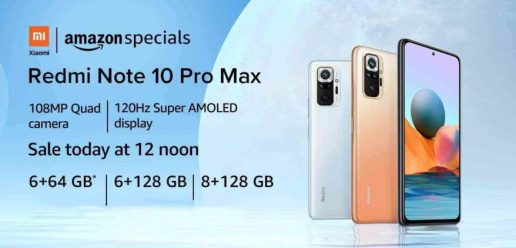 Xiaomi Redmi Note 10 Pro gets a price cut in India, Now Goes on Open Sale