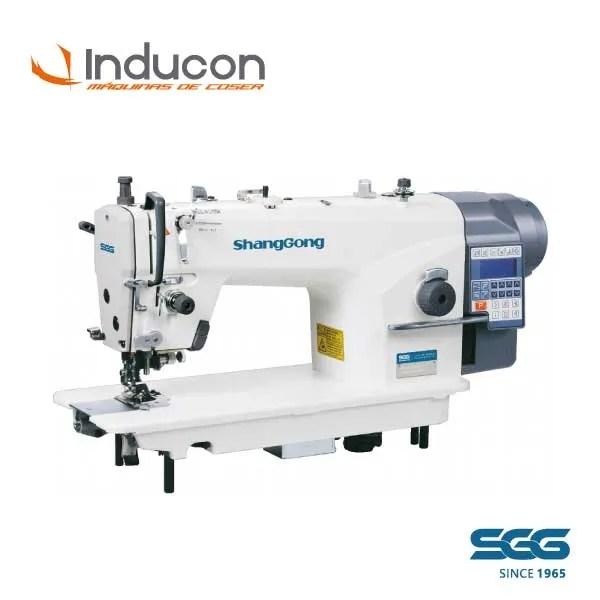 Foto de una maquina recta industrial ShangGong modelo GC5201E3
