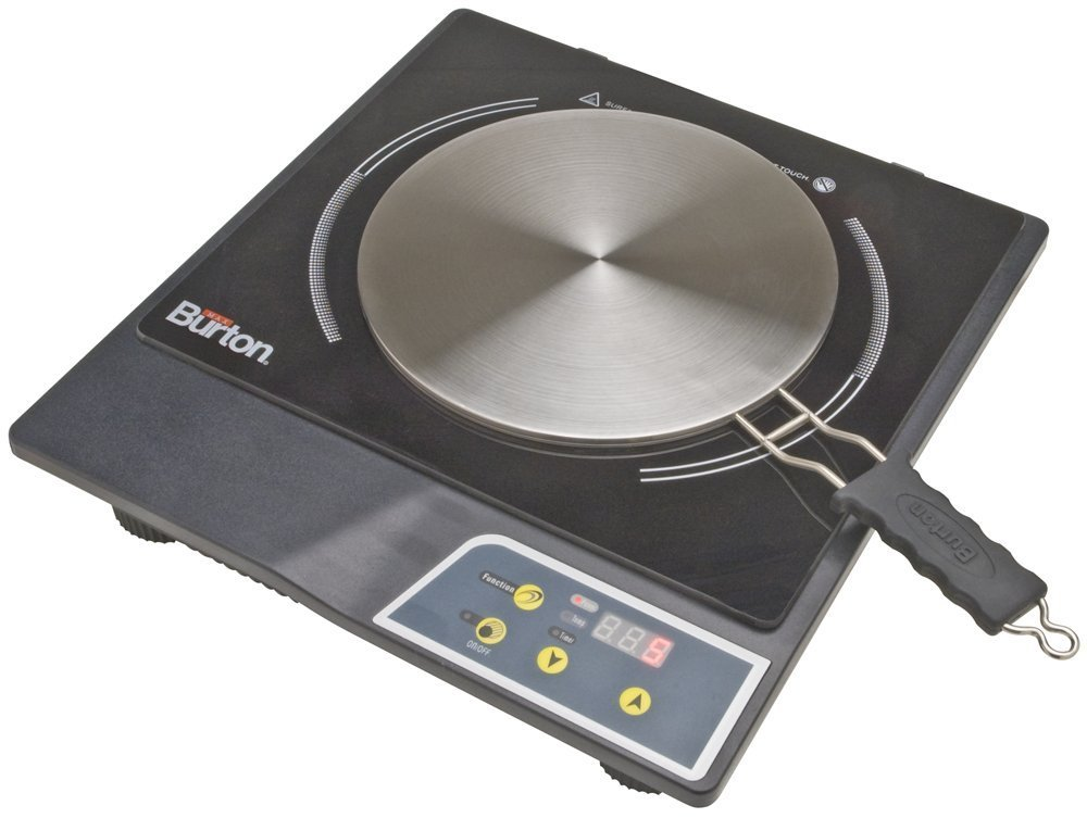 Max Burton 6015 Model 1800 Watts Portable Induction Cooktop Stove and Interface Disk Combination Set – Review