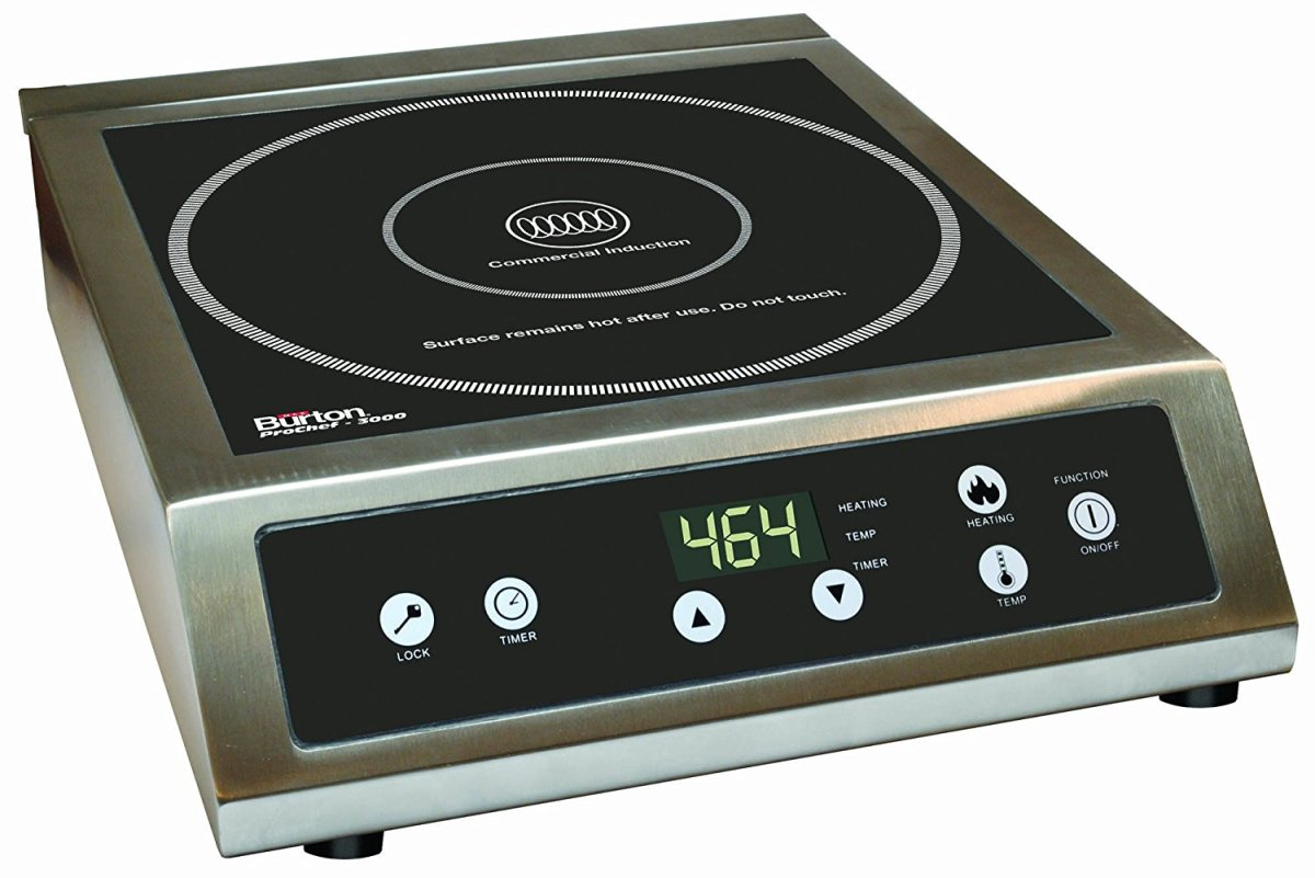 Max Burton 6530 ProChef 3000 Watts Commercial Induction Cooktop – Review