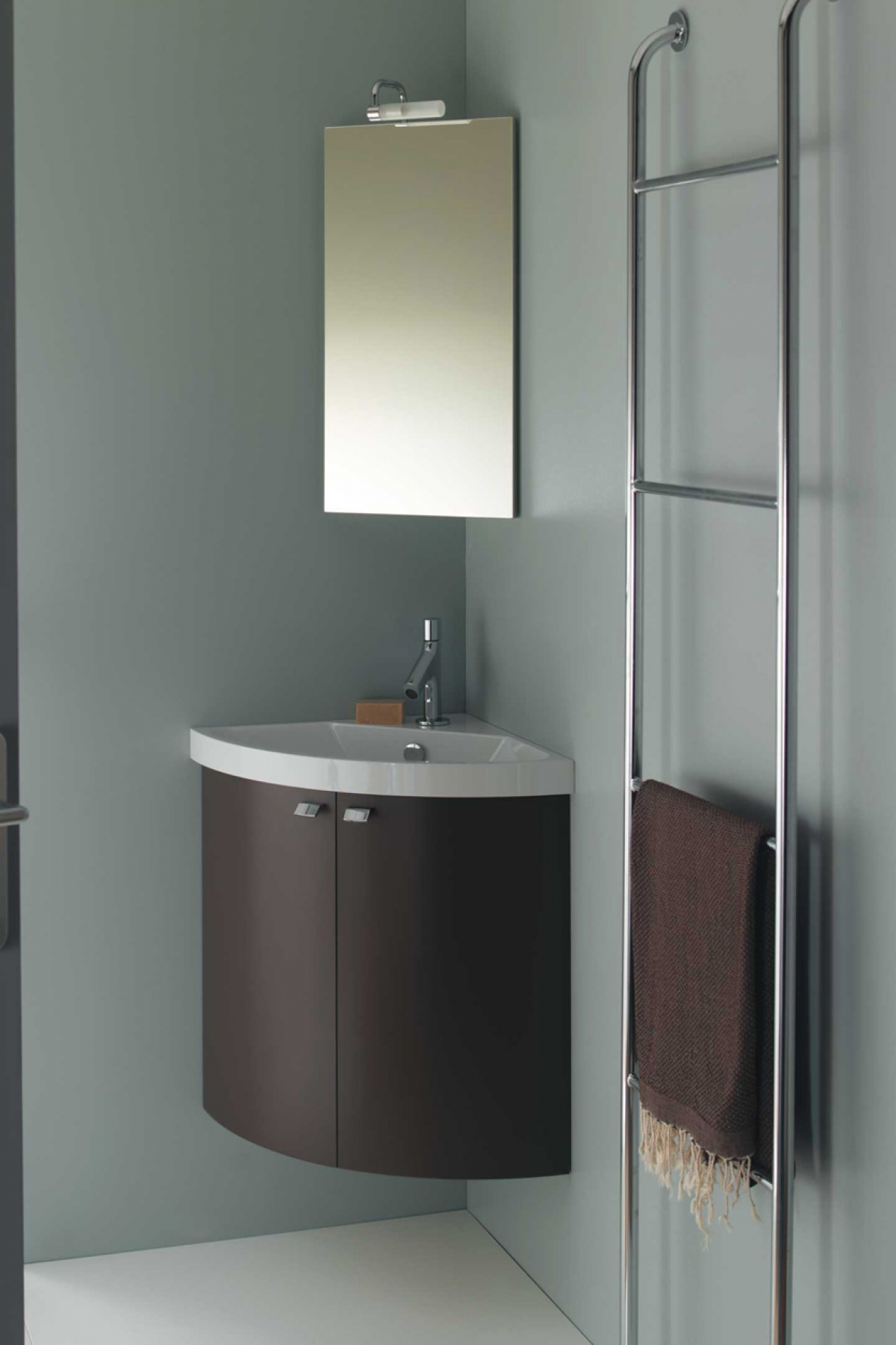 Ensemble Lave Mains Et Miroir Pop Angle SANIJURA