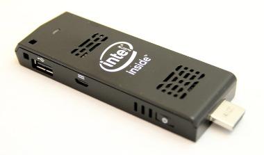 Sistema informático de 64 bit en el tamaño de un stick
