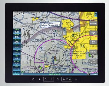 Display de misión LCD rugerizado con PC