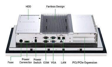 PC en formato panel para su uso en entornos peligrosos