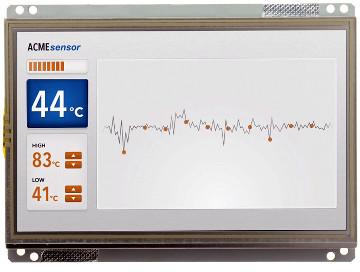 """Display con pantalla táctil Linux de 7"""""""