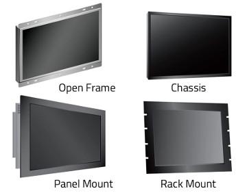 """Monitores LCD industriales de 5 a 32"""""""