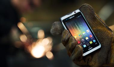 PDA rugerizada con Windows Embedded