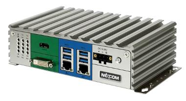 Box PC fanless para aplicaciones de la IoT
