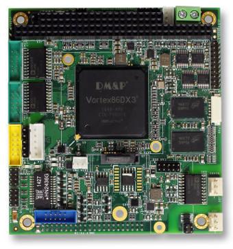 Tarjeta CPU rugerizada para aplicaciones embebidas