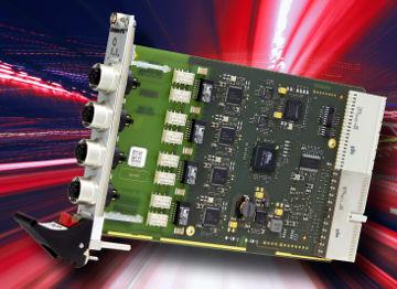 Tarjeta Fast Ethernet para aplicaciones ferroviarias