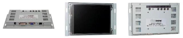 Monitores open frame de alto brillo