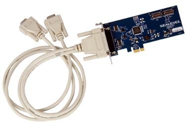 interfaz serie PCI Express de bajo perfil