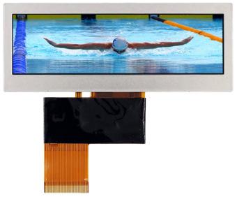 Mini paneles LCD panorámicos