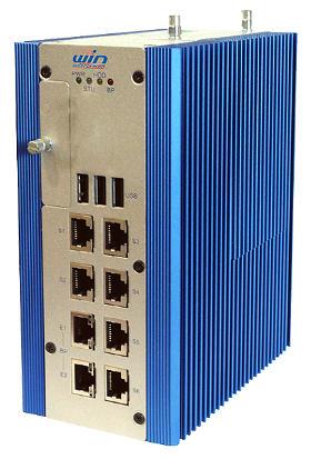 Sistema de red industrial para carril DIN