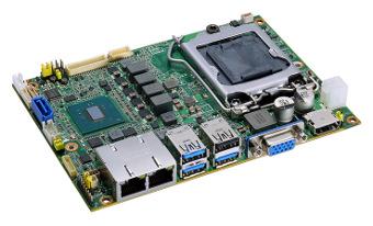 Tarjeta CPU con procesador de séptima generación