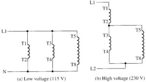 Changing Voltage & Speeds of SinglePhase Motors