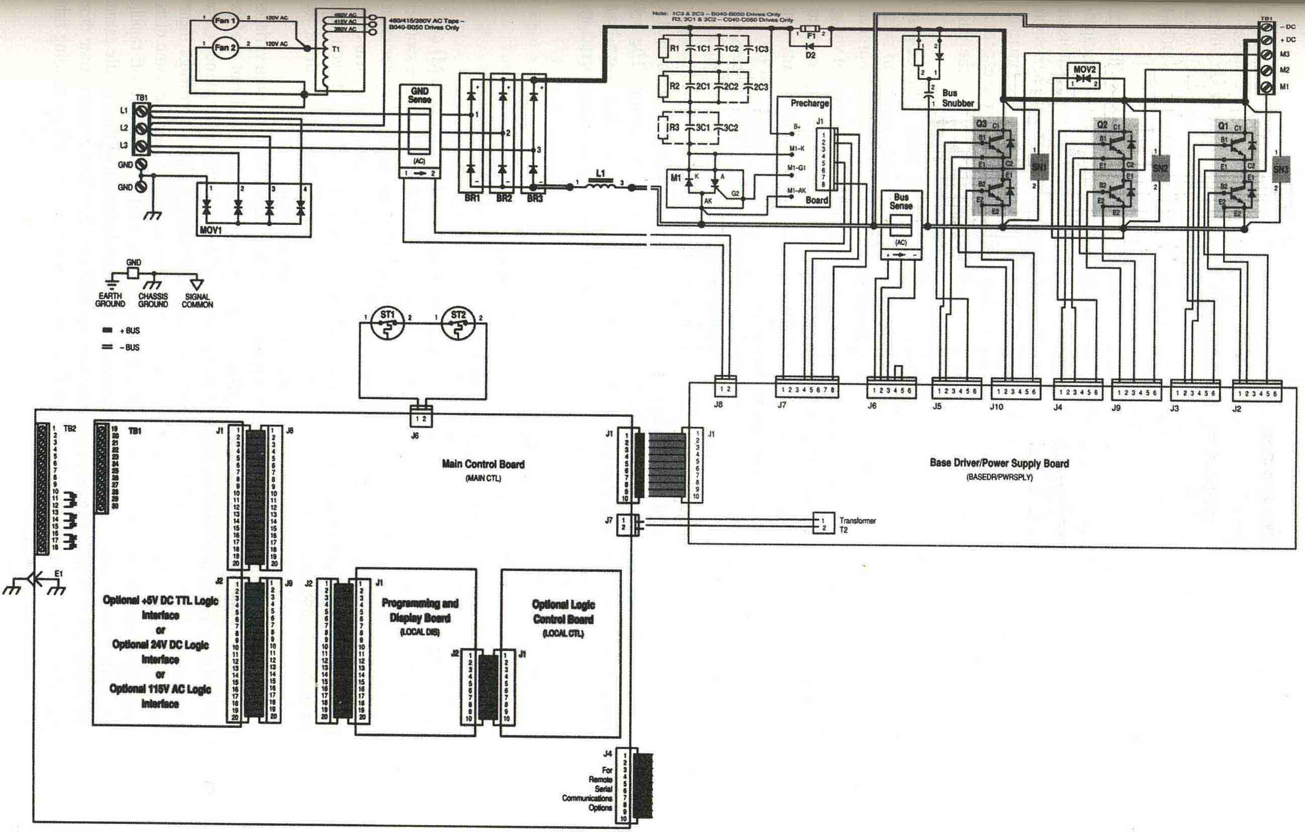 Ac Drive Block Diagram