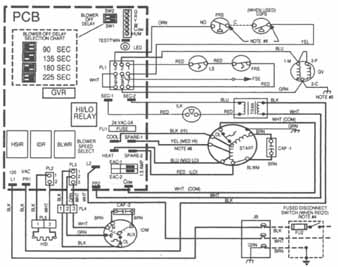 Understanding Hvac Wiring Diagrams together with Carrier Mini Split System Wiring Diagram moreover Goettl Wiring Diagram together with Residential A C Condenser Wiring Diagram in addition Heil Furnace Replacement Parts. on wiring diagram for carrier air conditioner