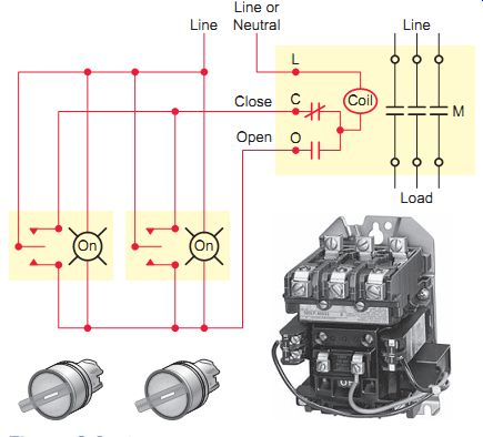 mechanically held contactor wiring diagram  dodge charger