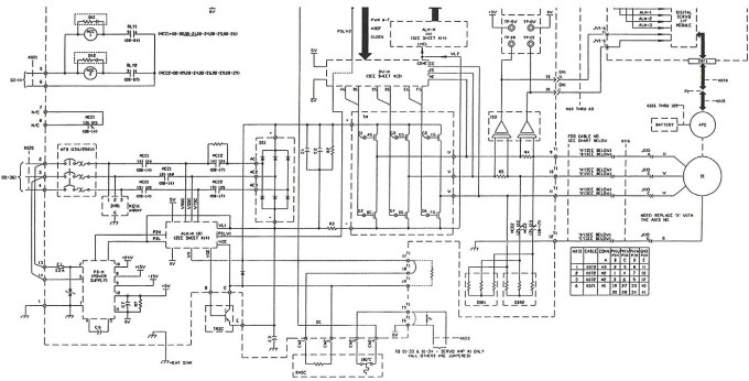 ac servo motor connection diagram