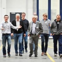 Führung, Betriebsrundgang, Zoran Antoski (1.v.l.), Treffen ITA Verband,