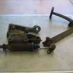 Comparison of adapter and stock master cylinder
