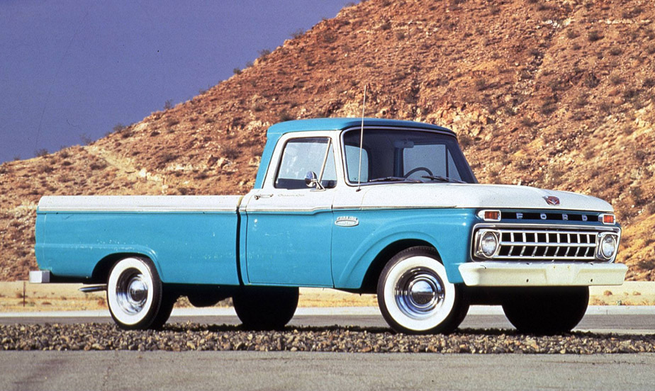 1965 Ford F-100 Pickup – Industrial Chassis Inc.