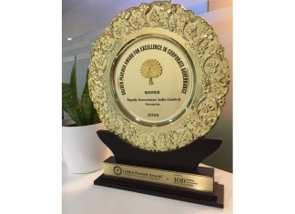 Signify Golden Peacock Award