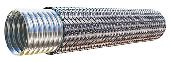 When To Use Metal Hose vs. Industrial Hose