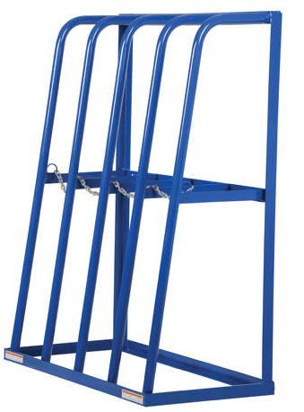 vertical storage rack industrial man