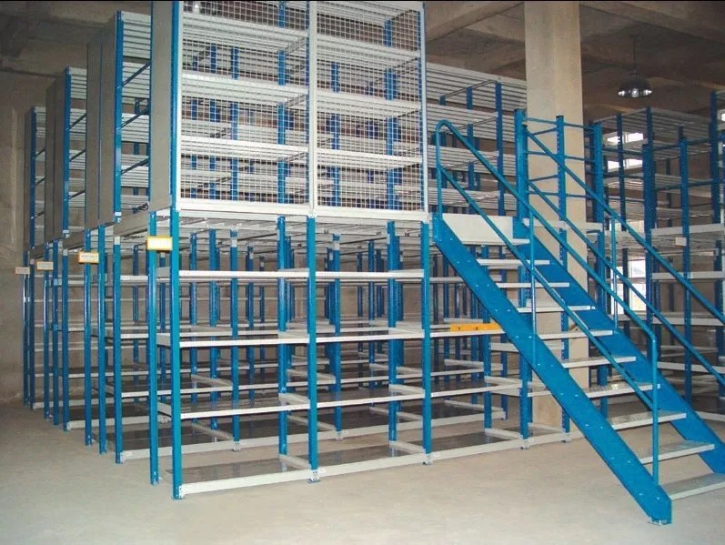 multi tier mezzanine racking system 2 3 floor 150 500kg per level capacity