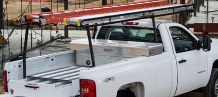 weather guard ladder rack parts