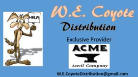 W. E. Coyote Distribution