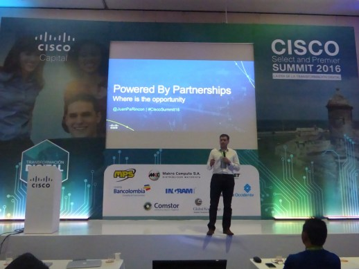 Cisco summit cartagena 2016