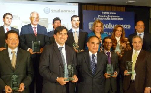 Los ganadores del Premio Evaluamos 2010