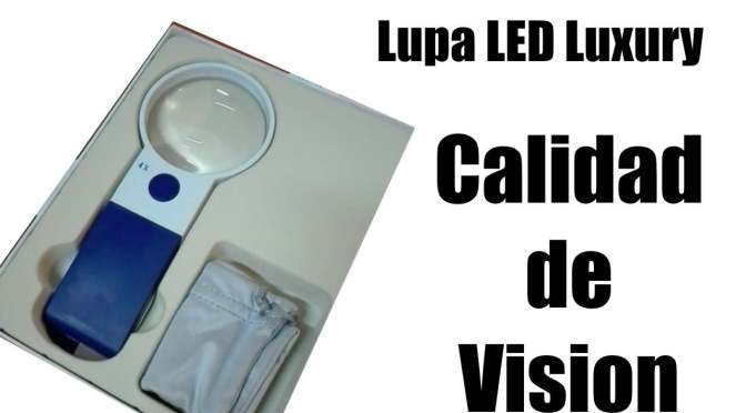 Lupa LED LUXURY 301176